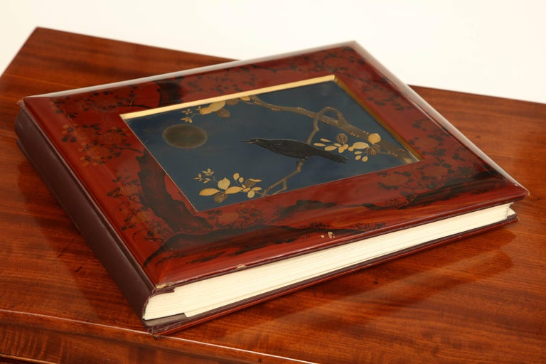 Early 20th century Japanese lacquer album.