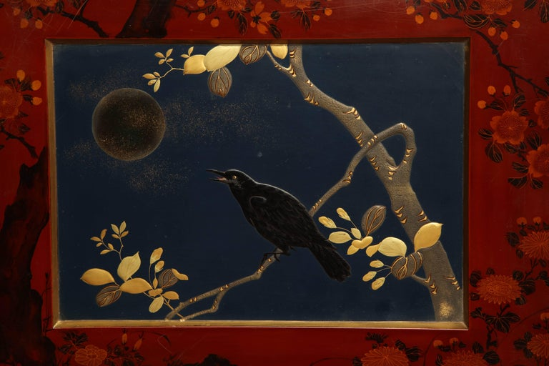 Early 20th Century Japanese Lacquer Album In Good Condition For Sale In New York, NY