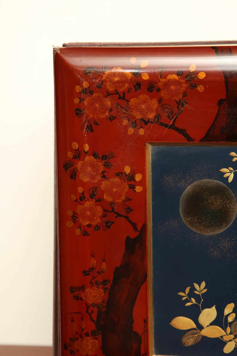 Early 20th Century Japanese Lacquer Album For Sale 2
