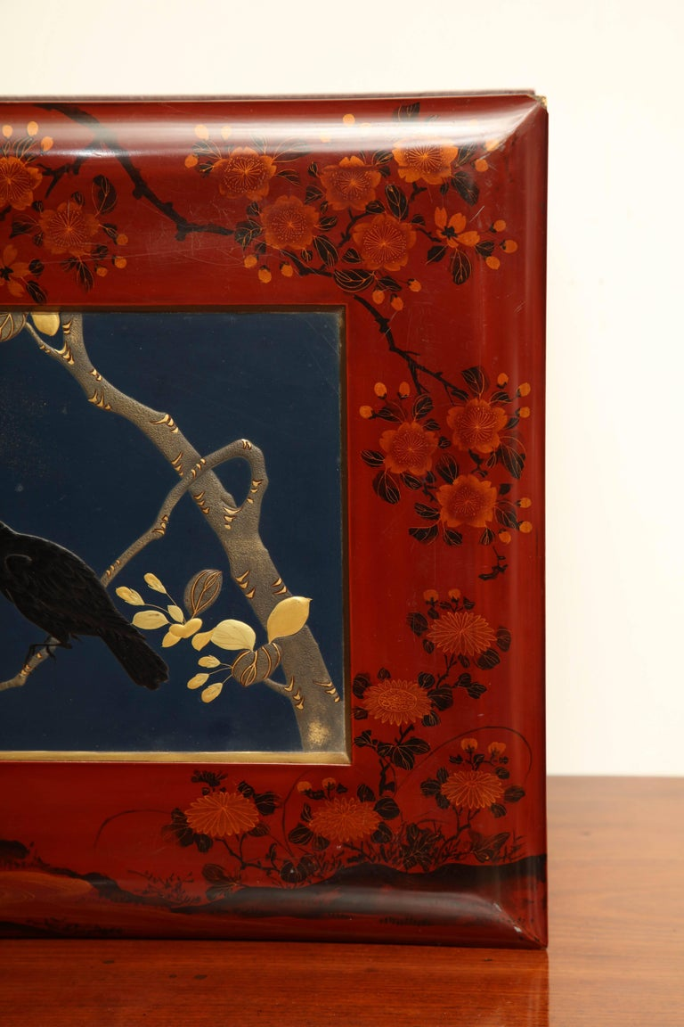 Early 20th Century Japanese Lacquer Album For Sale 3