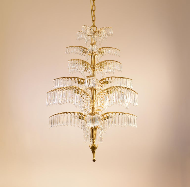 Hand-Crafted Josef Hoffmann Ceiling Lamp