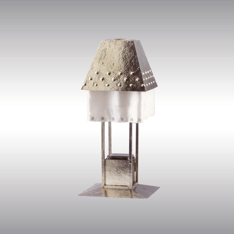 Tischlampe von Josef Hoffmann & Wiener Werkstätte, Frühes 20. Jahrhundert, Neuauflage 3