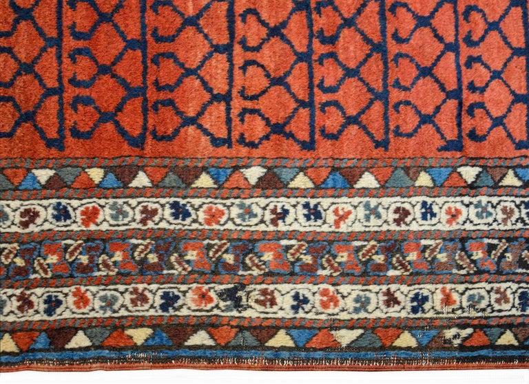 Hand-Woven Early 20th Century Karabak Runner For Sale