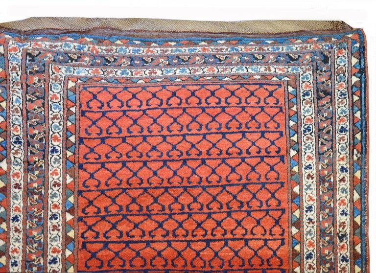 Wool Early 20th Century Karabak Runner For Sale