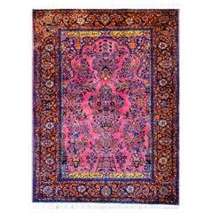 Early 20th Century Kashan Prayer Rug