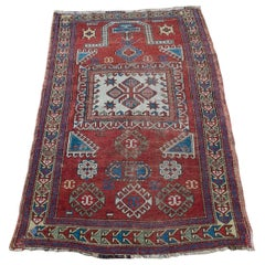 Early 20th Century Kazak Prayer Rug