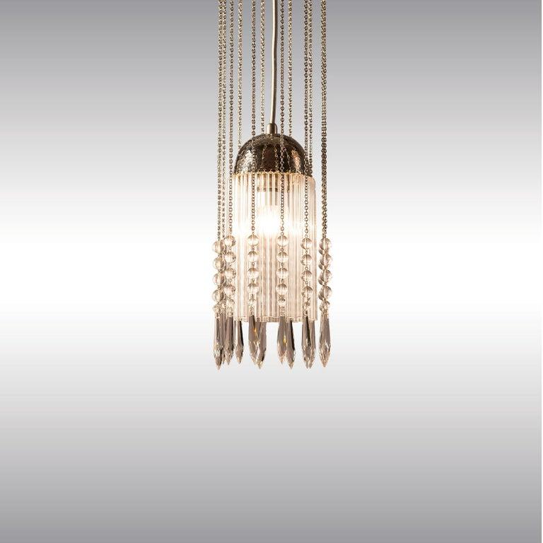 Contemporary  Koloman Moser Jugendstil Ceiling Lamp Re-Edition  For Sale