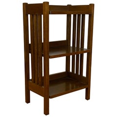 Early 20th Century L & J G Stickley Mission Oak Bookcase, circa 1920