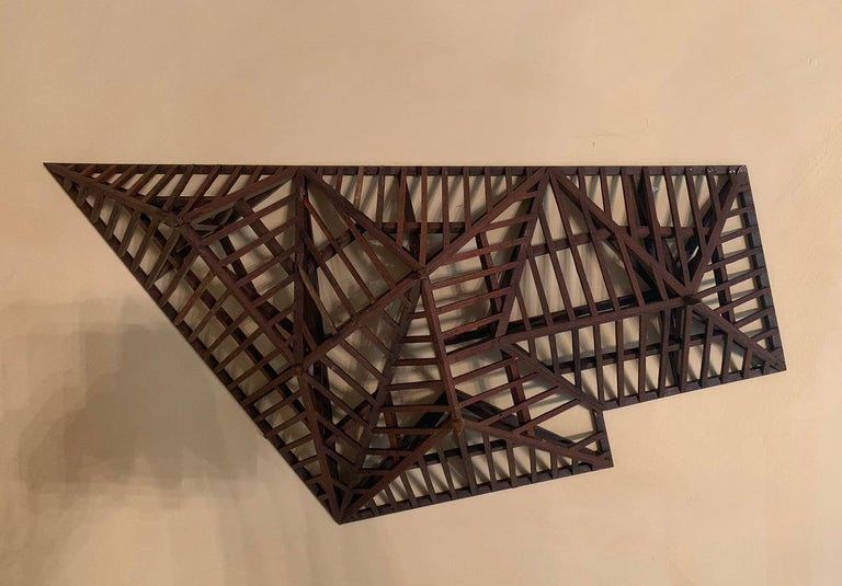 Early 20th Century, Large Piece De Maitrise, Architectural Model Roof For Sale 5