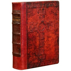Early 20th Century Leather and Gilt Illustrated King James Version Family Bible