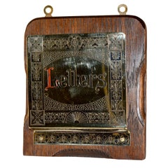 Early 20th Century Letter Holder