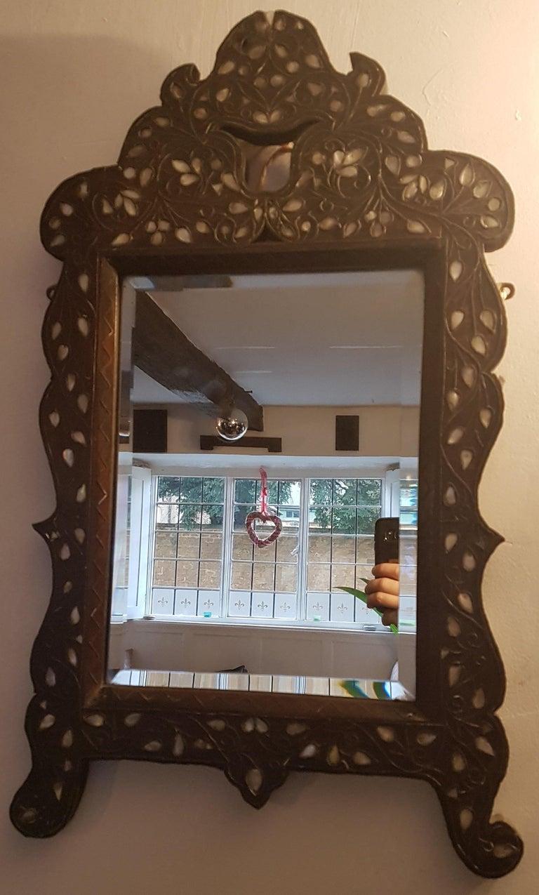 Early 20th Century Liberty's Syrian Moorish Wall Mirror For Sale 5