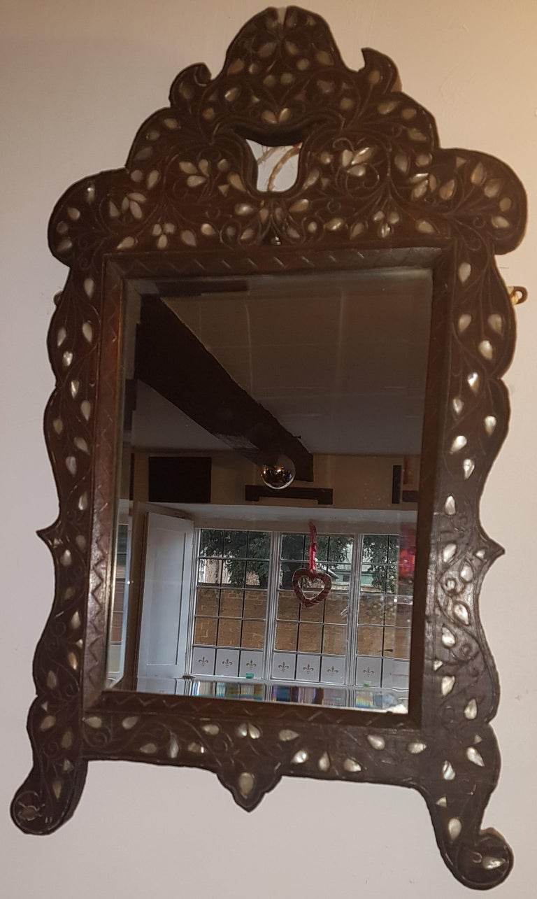 Early 20th Century Liberty's Syrian Moorish Wall Mirror For Sale 7