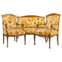 Early 20th Century Louis Majorelle Three-Piece Seating Set