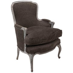 Early 20th Century Louis XV Style Bergère Armchair