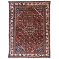 Early 20th Century Mahal Rug