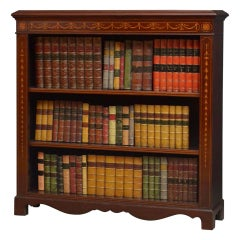 Early 20th Century Mahogany Open Bookcase