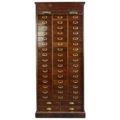 Early 20th Century Mahogany Solicitors Drawers