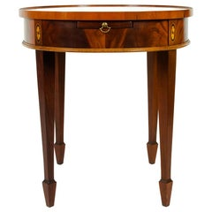 Early 20th Century Mahogany Wood Side Table