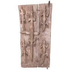Early 20th Century Malian Reptile Door