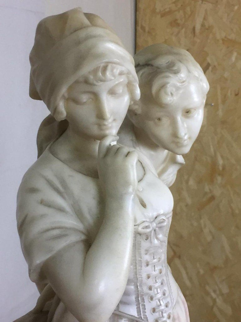 Other Early 20th Century Marble Sculpture Signed Cipriani