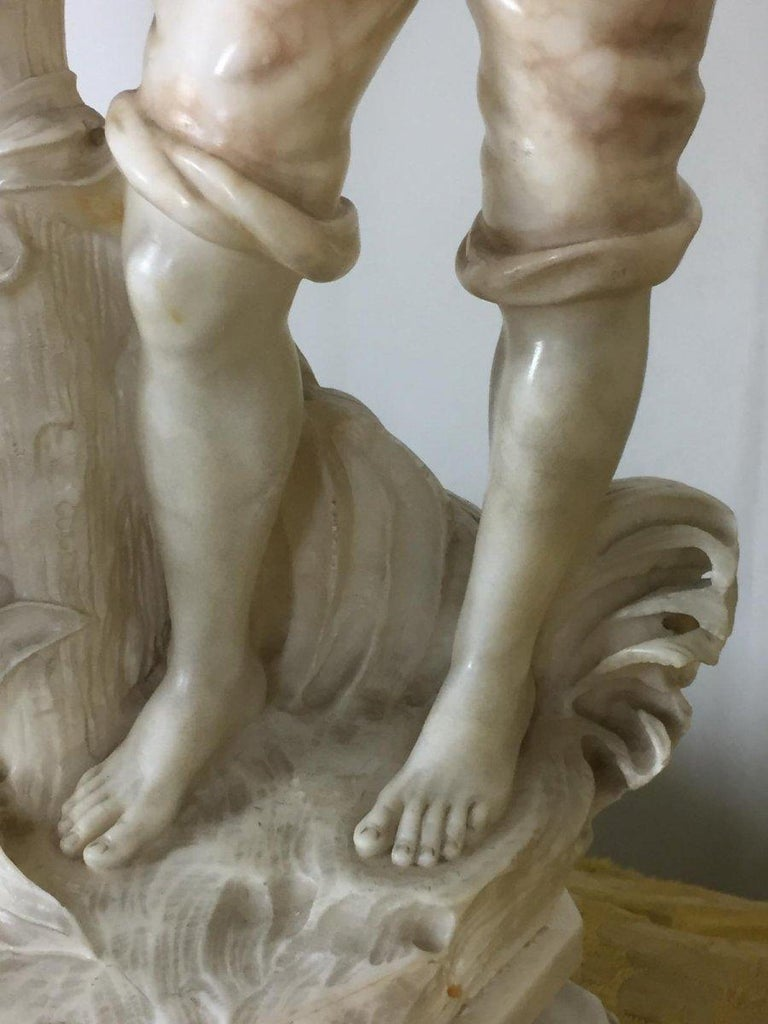Early 20th Century Marble Sculpture Signed Cipriani In Good Condition In Badia Polesine, Rovigo