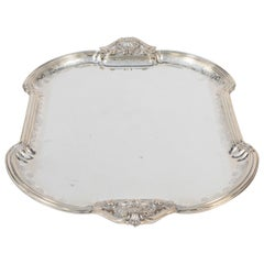 Early 20th Century Mario Buccellati Sterling Silver Tray