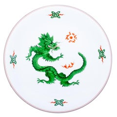 Early 20th Century Meissen Dragon Charger