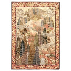 Early 20th Century Metal Thread Tapestry