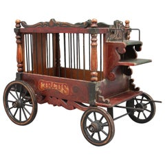 Early 20th Century Model of a Circus Wagon