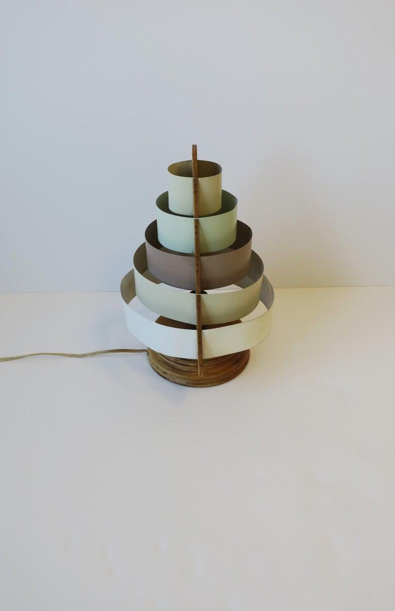 Art Deco Modern Desk or Table Lamp For Sale 7