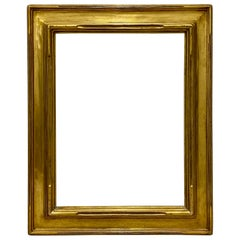 Early 20th Century Newcomb-Macklin Carved & Gilded Picture Frame, circa 1900