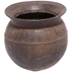 Early 20th Century Nigerian Bamileke Storage Vessel