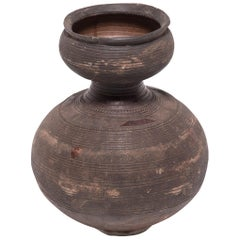 Early 20th Century Nigerian Nupe Gourd Water Vessel