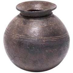 Early 20th Century Nigerian Nupe Water Vessel