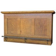 Early 20th Century Oak Bar