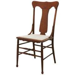 Early 20th Century Oak Dining Chair