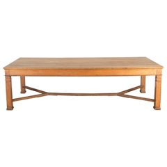 Early 20th Century Oak Refectory Table