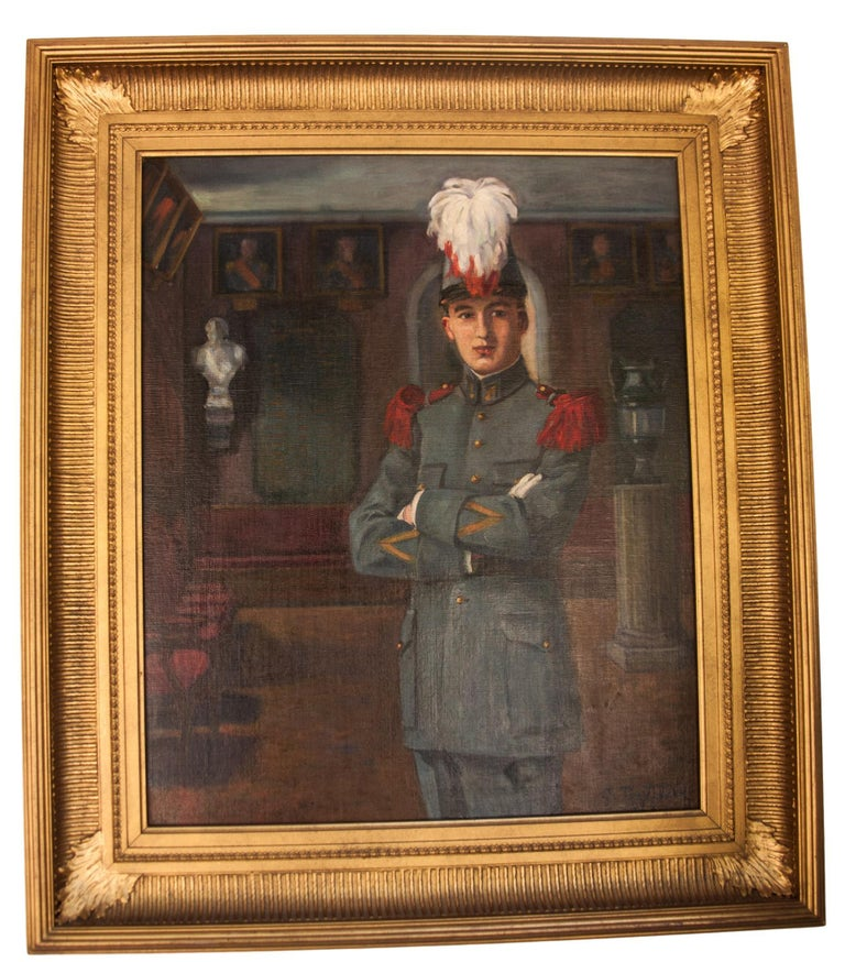 Early 20th century oil on canvas by C Tertiaux,