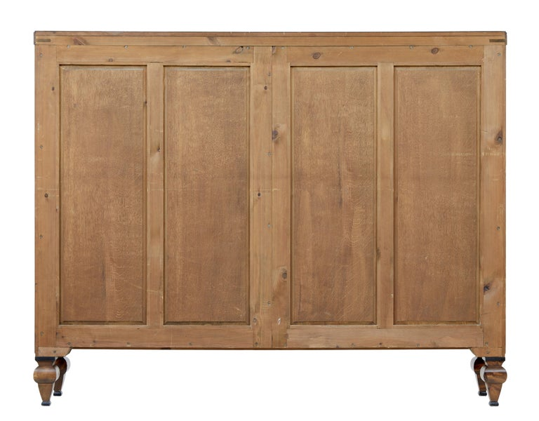 Swedish Early 20th century open birch bookcase by David Blomberg For Sale