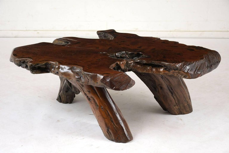 Organic Modern Organic Root Coffee Table For Sale