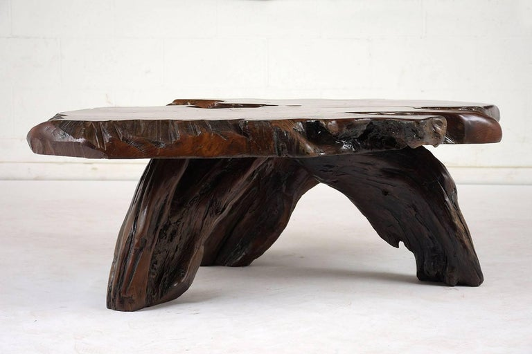 Organic Root Coffee Table In Excellent Condition For Sale In Los Angeles, CA