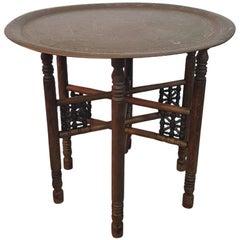 Early 20th Century Oriental Smoking Table
