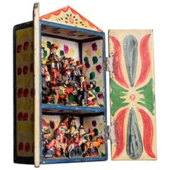 Early 20th Century Original Retablo Box