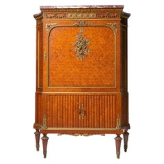 Early 20th Century Ormolu Mounted Bahut Chest Cabinet by François Linke