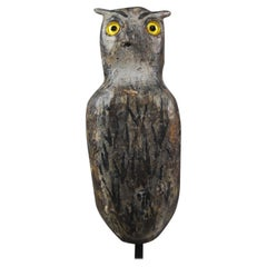 Early 20th Century Owl or Lark Decoy