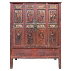 Early 20th Century Painted Cabinet, China