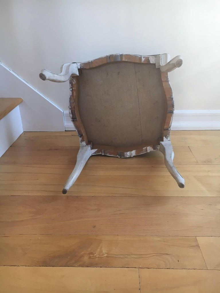 Early 20th Century Pair of Danish Louis XVI Style Stools For Sale 1