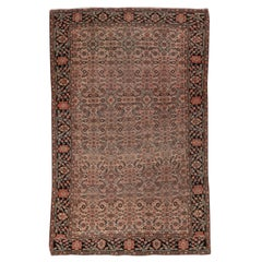 Early 20th Century Persian Farahan Sarouk Scatter Rug, circa 1900s