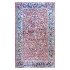 Early 20th Century Persian Kashan Rug